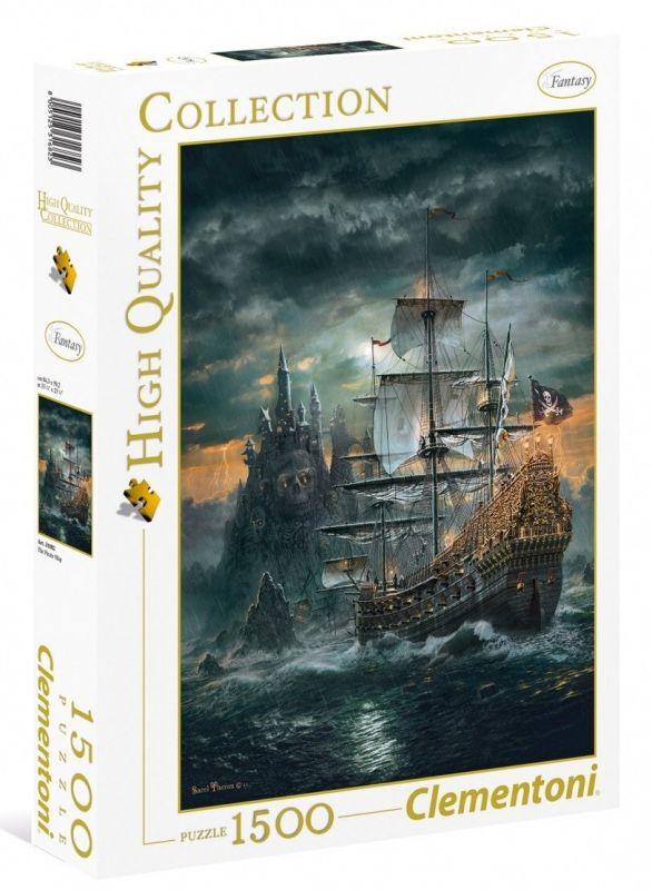Puzzle Clementoni 1500 dílků - Pirátská loď 31682
