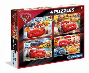 Puzzle Clementoni 2 x 20  a  2 x 60 dílků   CARS  3  07611