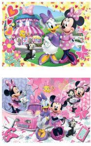 Puzzle Clementoni 2 x 20  dílků  - Minnie  Mouse  - 07029