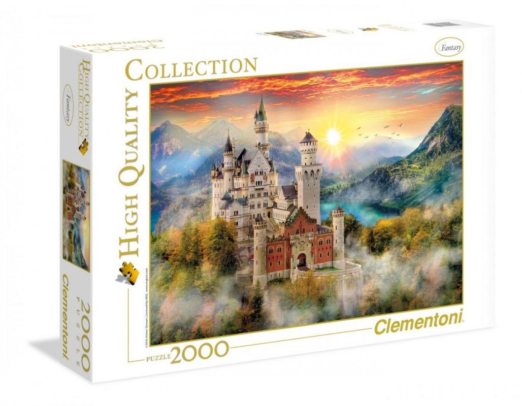 Puzzle Clementoni 2000 dílků - Neuschwanstein 32559