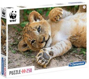 Puzzle Clementoni 250 dílků  - WWF - Lvíče  29745