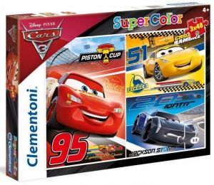 Puzzle Clementoni  - 3 x 48 dílků  - CARS 3    25221
