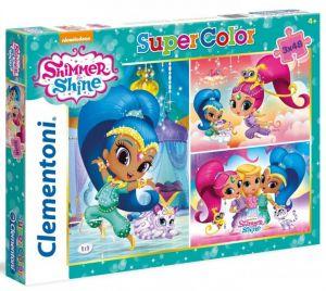 Puzzle Clementoni  - 3 x 48 dílků  - Shimmer & Shine    25218