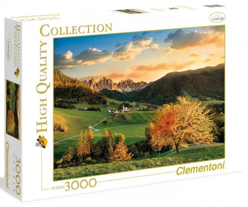 Puzzle Clementoni 3000 dílků - Alpy 33545