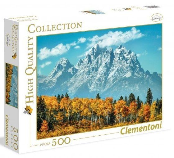 Puzzle CLEMENTONI 500 dílků Grand Teton 35034