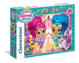 Puzzle Clementoni  MAXI  - 24 dílků  -  Shimmer  & Shine 24486