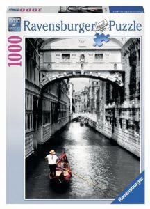 Puzzle  Ravensburger  1000 dílků - Benátky - kanál   194728
