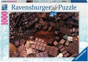 puzzle Ravensburger 1000 dílků -  Čokoládový ráj  -  196142