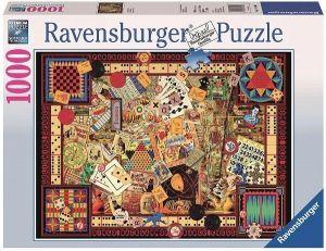puzzle Ravensburger 1000 dílků -  Hry  -  194063