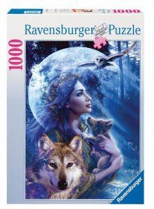 Puzzle Ravensburger 1000 dílků - Královna vlků  154142