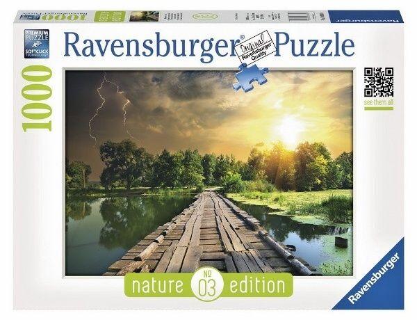 puzzle Ravensburger 1000 dílků - Mystické nebe - 195381