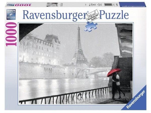 Puzzle Ravensburger 1000 dílků - Noční Paříž 194711