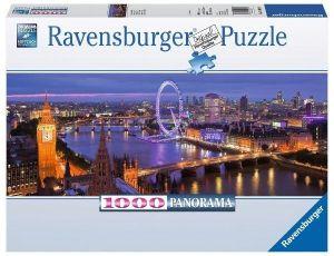 Puzzle Ravensburger 1000 dílků  panorama - Noční Londýn   150649