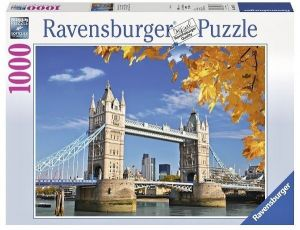 puzzle Ravensburger 1000 dílků - Tower Bridge -  196371