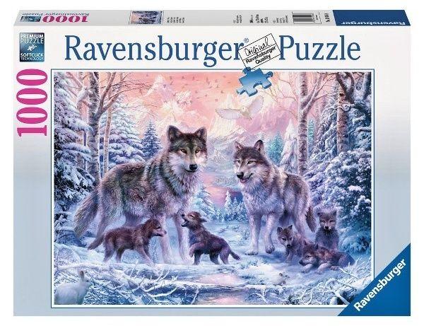 Puzzle Ravensburger 1000 dílků - Vlci 191468