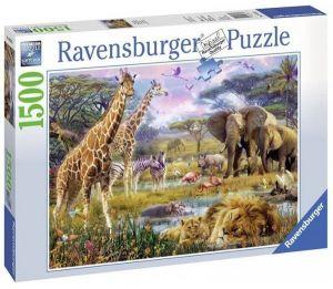 puzzle Ravensburger 1500 dílků  - Barevná Afrika   163335