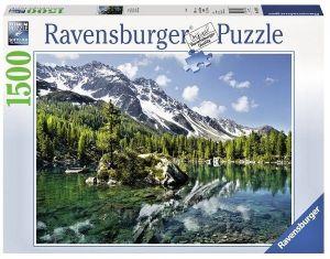 puzzle Ravensburger 1500 dílků  -  Bergmagie - Magické hory   162826
