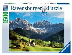 puzzle Ravensburger 1500 dílků - Dolomity Itálie  162697