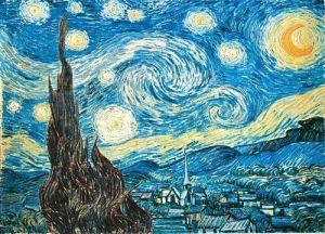 puzzle Ravensburger 1500 dílků  Gogh - Hvězdná noc   162079