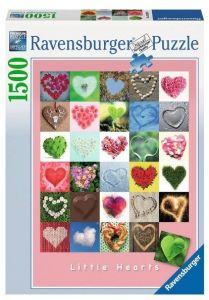 puzzle Ravensburger 1500 dílků  -  Srdíčka  162949