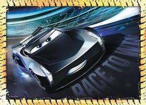 Puzzle Trefl 4v1 - 35, 48, 54 a 70 dílků CARS 3 - 34276