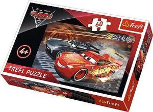 Puzzle Trefl 60 dílků  - CARS 3 -   17297