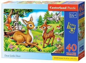 Puzzle Castorland 40 dílků MAXI - Jeleni   040261