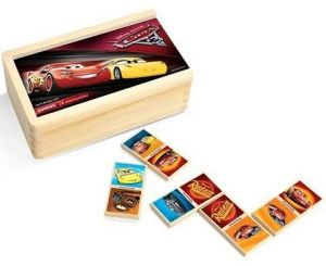 Dřevěné domino - CARS - Auta 3