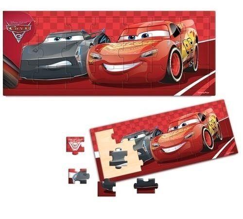 Dřevěné puzzle PLAYME - CARS - Auta 3 21 dílků Playme - Brimarex