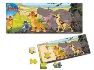 Dřevěné puzzle PLAYME - Lví hlídka  21 dílků