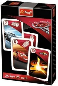 karty  Černý Petr - CARS - Auta 3   -  TREFL 08474