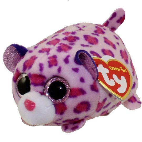 Plyšák TY - Teeny Ty´s - malá plyšová zvířátka - leopard Olivia 10 cm