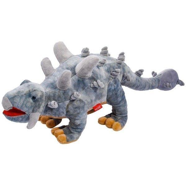 Plyšový dinosaurus - Stegosaurus šedý 48 cm plyšák 12963 BEPPE
