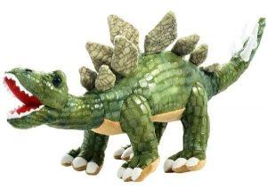 Plyšový dinosaurus - Stegosaurus tmavě zelený  58 cm velký plyšák  12955