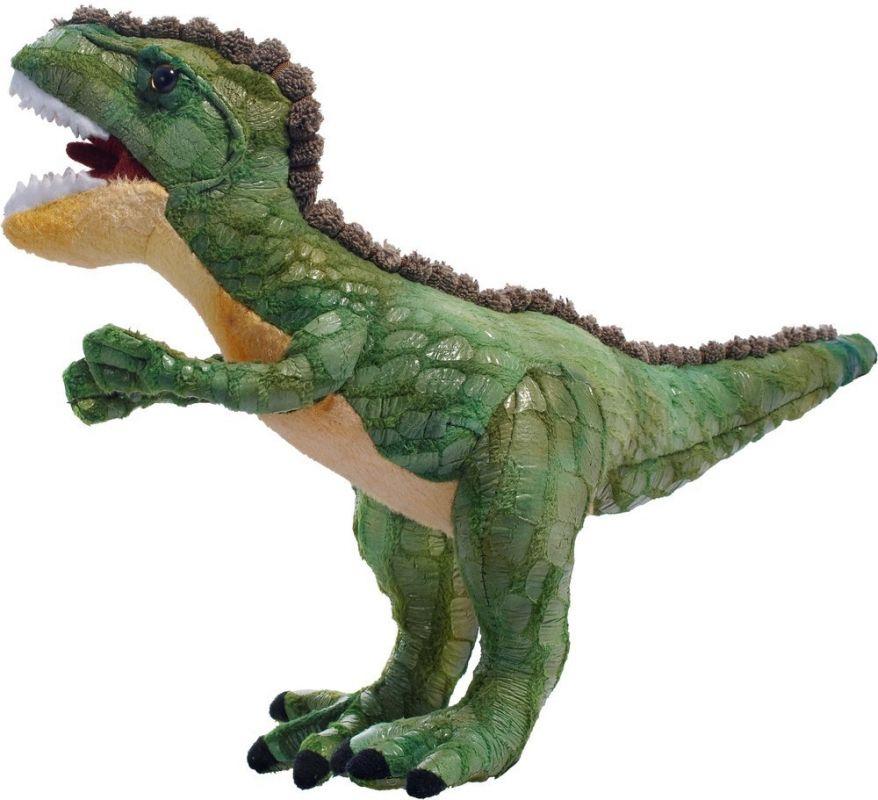 Plyšový dinosaurus - Tyrannosaurus zelený 50 cm plyšák 12957 BEPPE