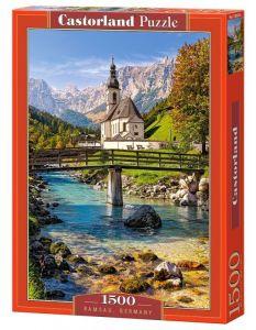 Puzzle Castorland  1500 dílků - Ramsau - Německo   151615