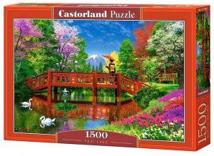 Puzzle Castorland  1500 dílků - Jezero pod Fudži   151608