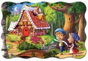 Puzzle Castorland 20 dílků podlahové - MAXI - Jeníček a Mařenka 02368