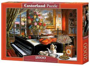 Puzzle Castorland 2000 dílků  Housle na  klavíru   200641