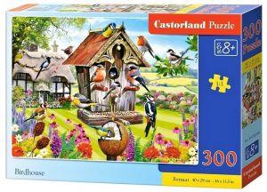 Puzzle Castorland 300 dílků - ptačí budka  030248
