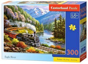 Puzzle Castorland 300 dílků - řeka   030293