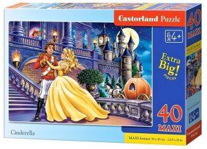 Puzzle Castorland 40 dílků MAXI - Popelka 040254