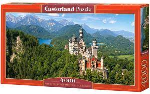 Puzzle  Castorland  4000 dílků - Pohled na Neuschwanstein   400218
