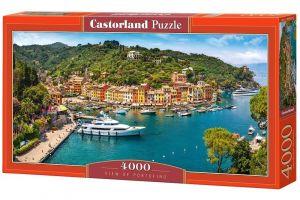 Puzzle  Castorland  4000 dílků - Výhled na Portofino    400201