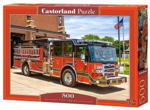 Puzzle Castorland 500 dílků - hasičský vůz   52660