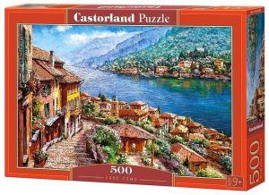 Puzzle Castorland 500 dílků - jezero Como   52639