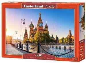 Puzzle Castorland 500 dílků - Moskva   52714