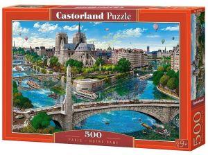 Puzzle Castorland 500 dílků - Paříž - Notre Dame   52653