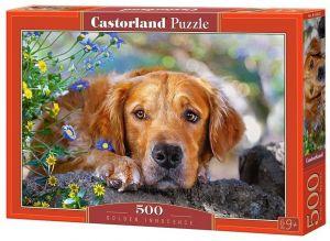 Puzzle Castorland 500 dílků - pejsek   52622
