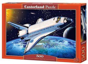Puzzle Castorland 500 dílků - Raketoplán   52707